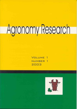 Agronomy Research Journal